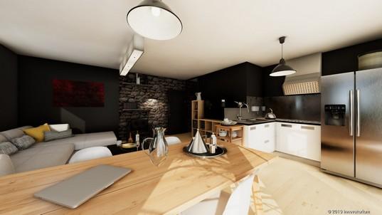 rendu VR immobilier haut de gamme